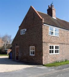 Thumbnail 1 bedroom semi-detached house to rent in Main Street, Wressle, Selby