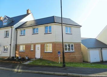 3 bed end terrace house for sale in Ffordd Y Draen, Coity, Bridgend CF35