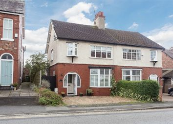 Thumbnail 3 bed semi-detached house for sale in Knutsford Road, Alderley Edge, Cheshire