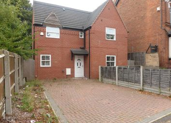 Thumbnail 3 bed detached house to rent in Selborne Road, Handsworth Wood, Birmingham