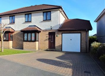 Thumbnail 3 bed semi-detached house for sale in 39 Meadow Crescent, Saddlestone, Douglas