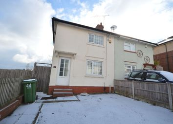 Thumbnail 2 bed semi-detached house for sale in Tansley Hill Avenue, Dudley