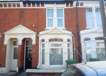 Thumbnail 3 bed terraced house to rent in Queens Road, Portsmouth
