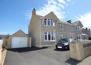 Thumbnail 3 bedroom semi-detached house for sale in Walthew Avenue, Holyhead, Sir Ynys Mon