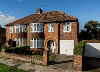 Thumbnail 4 bedroom semi-detached house for sale in Thirkleby Way, Osbaldwick, York
