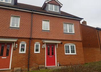 Thumbnail 3 bedroom property to rent in Violet Way, Kingsnorth, Ashford