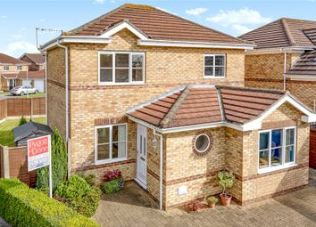 Thumbnail 3 bed detached house for sale in Larch Avenue, Nettleham
