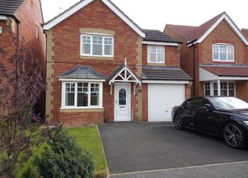 Thumbnail 4 bed detached house for sale in Heather Lea, Blyth