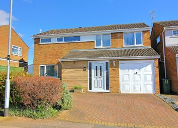 Thumbnail 4 bed detached house for sale in Georgeham Close, Wigston