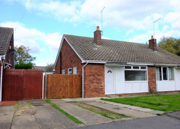 Thumbnail 2 bed semi-detached bungalow for sale in Rowe Avenue, Orton Longueville, Peterborough
