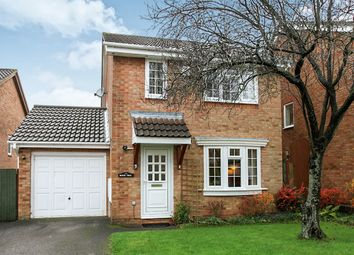 Thumbnail 3 bed detached house for sale in Beechcroft Close, Andover