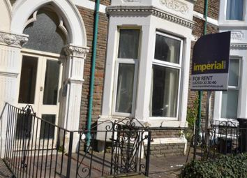 Thumbnail 4 bed shared accommodation to rent in 20, Connaught Road, Roath, Cardiff, South Wales