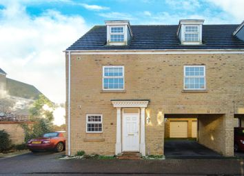 Thumbnail 4 bedroom link-detached house to rent in Jeffrey Drive, Sapley, Huntingdon