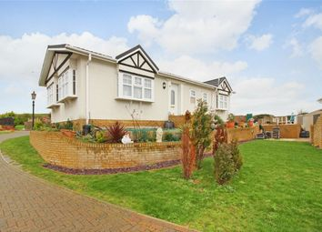 Thumbnail 2 bedroom mobile/park home for sale in 4 Reculver Rise, Reculver Lane, Reculver, Herne Bay, Kent