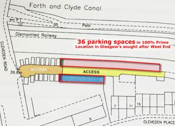 Thumbnail Parking/garage for sale in 36 Parking Spaces, Cleveden Place, West End, Glasgow G120Hq