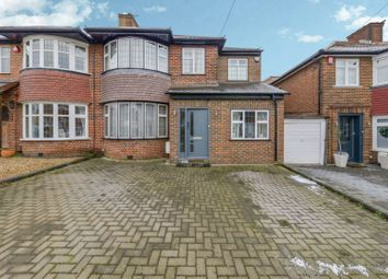 Thumbnail 4 bed semi-detached house for sale in Braithwaite Gardens, Stanmore