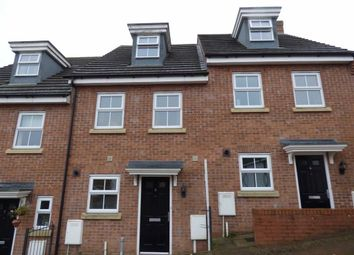 Thumbnail 3 bed town house for sale in Coughton Close, Daventry