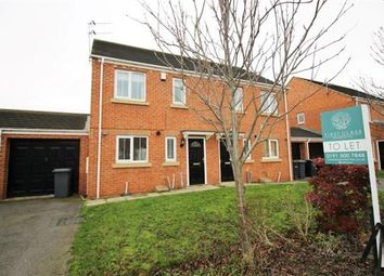 Thumbnail 3 bed semi-detached house to rent in Ivyway, Pelton, Chester Le Street