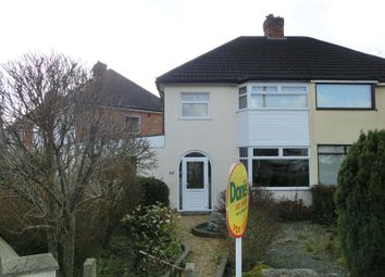 Thumbnail 3 bed semi-detached house for sale in Shakespeare Road, Shirley, Solihull