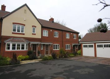 Thumbnail 3 bed terraced house to rent in Overslade Road, Solihull