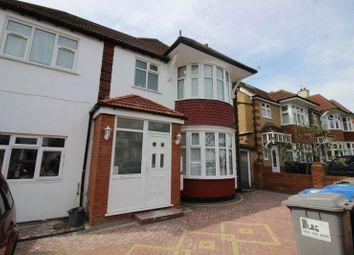 Thumbnail 3 bed flat to rent in Northwick Avenue, Kenton, Harrow