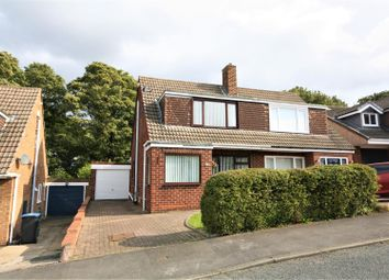 Thumbnail 3 bed semi-detached house for sale in Danelaw, Great Lumley, Chester Le Street