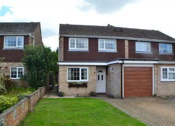 Thumbnail 3 bed semi-detached house for sale in Neville Drive, Thatcham