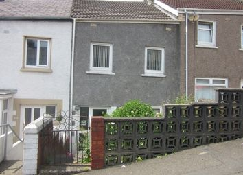 Thumbnail 2 bed terraced house to rent in Ormsby Terrace, Port Tennant, Swansea.