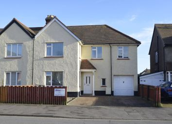 Thumbnail 4 bed semi-detached house for sale in Langer Road, Felixstowe