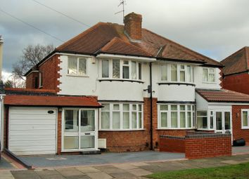Thumbnail 3 bed semi-detached house to rent in Inchcape Avenue, Handsworth Wood