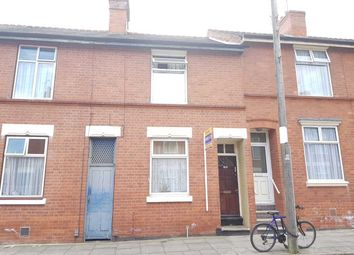 Thumbnail 3 bed terraced house for sale in Fairfield Street, Leicester
