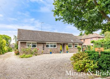 Thumbnail 3 bed detached bungalow for sale in Latchmoor Lane, Ludham, Great Yarmouth