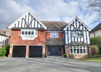 Thumbnail 5 bed detached house for sale in Oxenden Wood Road, Chelsfield, Orpington