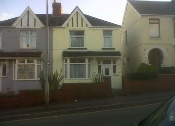 Thumbnail 3 bedroom semi-detached house to rent in Pentregethin Rd, Gendros, Swansea