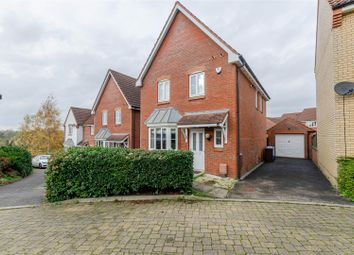 Thumbnail 3 bed detached house for sale in Thacker Way, Norwich