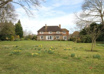 Thumbnail 5 bed detached house for sale in Bagshot Road, Chobham, Woking, Surrey