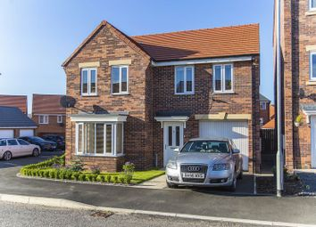 Thumbnail 4 bed detached house for sale in Font Drive, Blyth