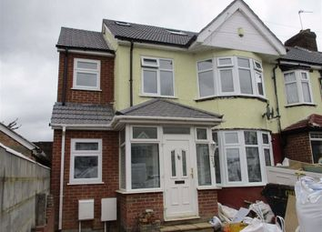Thumbnail 3 bed flat to rent in Ascot Gardens, Southall, Middlesex