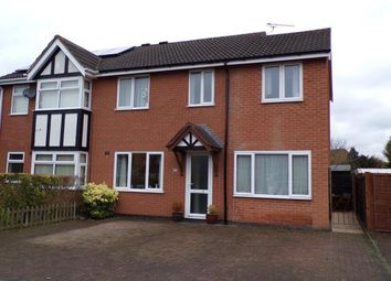 Thumbnail 4 bed semi-detached house for sale in Paddock View, Syston, Leicester, Leicestershire