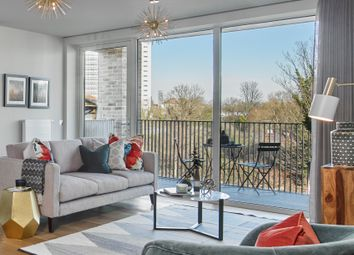 Thumbnail 3 bed flat for sale in Keelson Gardens, Brentford Lock West
