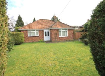 Thumbnail 3 bed detached bungalow for sale in North Drive, Fakenham