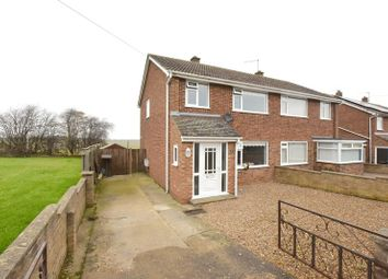 Thumbnail 3 bed semi-detached house for sale in Churchill Road, Stamford