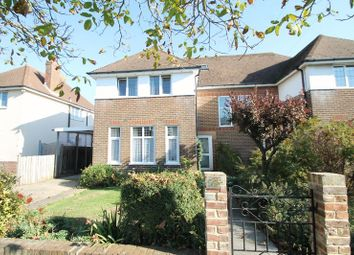 Thumbnail 5 bed semi-detached house for sale in Surrenden Road, Folkestone