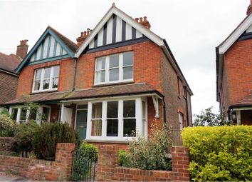 Thumbnail 5 bed semi-detached house for sale in Prince Edwards Road, Lewes