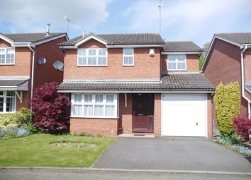Thumbnail 4 bedroom detached house to rent in Willows Close, Wistaston, Crewe, Cheshire