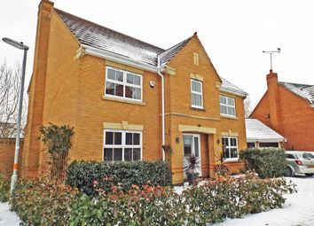 Thumbnail 4 bed detached house for sale in Samwell Way, Northampton