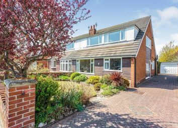 Thumbnail 3 bed bungalow for sale in Sawley Avenue, Lytham St Anne's, Lancashire, England