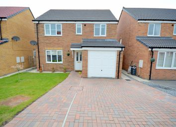 Thumbnail 4 bed detached house for sale in Hutchinson Close, Coundon, Bishop Auckland