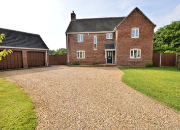 Thumbnail 4 bed detached house for sale in Priors Grove, Yaxham, Dereham