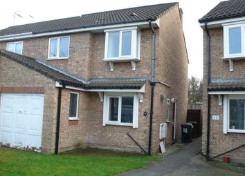 Thumbnail 3 bed semi-detached house to rent in Coultas Court, Hull